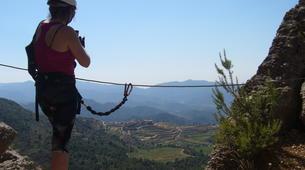 Via Ferrata-Province of Tarragona-Via Ferrata Montsant in Tarragona-2