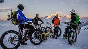 VTT-Megève, Evasion Mont Blanc-Randonnée Fat Bike et Fat Trotinette à La Giettaz, Val d'Arly-4