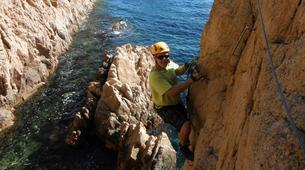 Via Ferrata-Girona-Via ferrata Cala del Moli in Costa Brava-5