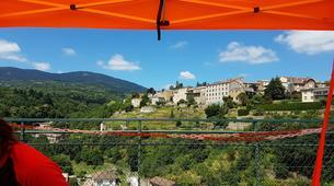 Saut à l'élastique-Ardèche-Saut à l'Elastique du Viaduc de Saint Paul Le Jeune (37m) en Ardèche-3