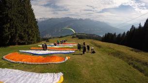 Paragliding-Interlaken-Tandem paragliding flight over Interlaken-9