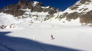Backcountry snowboarding-Chamonix Mont-Blanc-Splitboard initiation in Chamonix-8