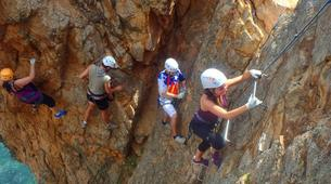 Via Ferrata-Costa Brava-Via ferrata Cala de Moli on the Costa Brava-5