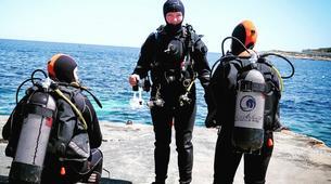 Scuba Diving-Malta-PADI Discover Scuba Diver in Qawra, Malta-2
