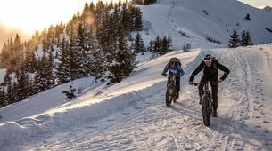 VTT-Megève, Evasion Mont Blanc-Randonnée Fat Bike et Fat Trotinette à La Giettaz, Val d'Arly-5