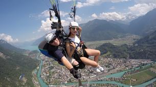 Paragliding-Interlaken-Tandem paragliding flight over Interlaken-10