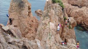 Via Ferrata-Girona-Via ferrata Cala del Moli in Costa Brava-12