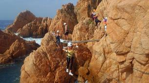 Via Ferrata-Costa Brava-Via ferrata Cala de Moli on the Costa Brava-4