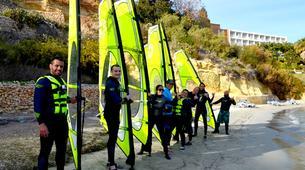 Windsurfing-Malta-Windsurfing taster lesson in Mellieha Bay, Malta-4