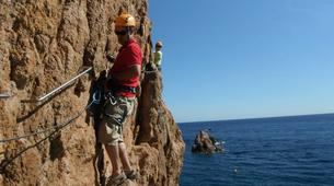 Via Ferrata-Girona-Via ferrata Cala del Moli in Costa Brava-1