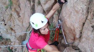 Via Ferrata-Girona-Via ferrata Cala del Moli in Costa Brava-13