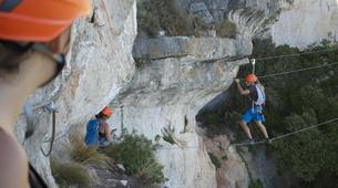 Via Ferrata-Province of Tarragona-Via Ferrata Dels Patacons in Tarragona-6