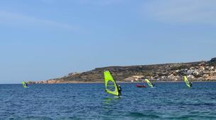 Windsurfing-Malta-Windsurfing taster lesson in Mellieha Bay, Malta-1