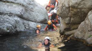 Canyoning-Girona-Canyoning at Les Anelles canyon in Girona-8