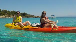 Sea Kayaking-Chalkidiki-Sea kayak excursions in Halkidiki-3