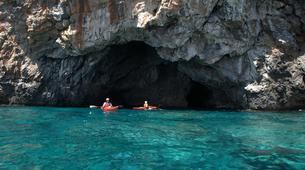 Sea Kayaking-Rethymno-Sea kayak excursion in Sfakia near Rethimno, Crete-2