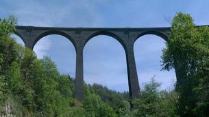 Saut à l'élastique-Ardèche-Saut à l'Elastique du Viaduc de Saint Paul Le Jeune (37m) en Ardèche-2