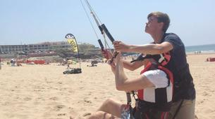 Kitesurf-Praia do Guincho-Beginner kitesurfing courses on Praia do Guincho, near Lisbon-1