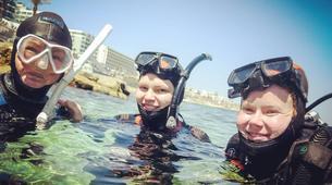 Scuba Diving-Malta-PADI Discover Scuba Diver in Qawra, Malta-3