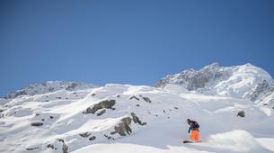 Freestyle snowboarding-Chamonix Mont-Blanc-Freestyle snowboarding initiation in Chamonix-1