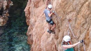 Via Ferrata-Girona-Via ferrata Cala del Moli in Costa Brava-10