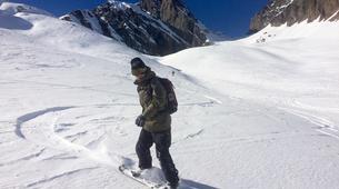 Backcountry snowboarding-Chamonix Mont-Blanc-Splitboard initiation in Chamonix-6