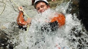 Canyoning-Girona-Canyoning at Les Anelles canyon in Girona-9