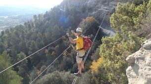 Via Ferrata-Centelles-Via ferrata in 'Les Baumes Corcades' near Barcelona-6