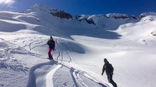 Backcountry snowboarding-Chamonix Mont-Blanc-Splitboard initiation in Chamonix-4