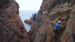 Via Ferrata-Girona-Via ferrata Cala del Moli in Costa Brava-8
