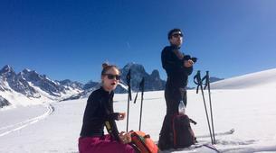 Backcountry snowboarding-Chamonix Mont-Blanc-Splitboard initiation in Chamonix-5