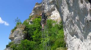 Via Ferrata-Gorges du Tarn-Via Ferrata of Liaucous in Cevennes National Park-3