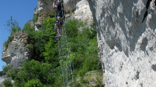 Via Ferrata-Cevennes National Park-Via Ferrata of Liaucous in Cevennes National Park-4