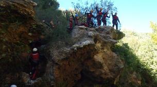 Canyoning-Alicante-Canyoning Gorgo de la Escalera in Alicante-2