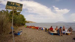 Kayak de mer-Epidaurus-Ancient Sunken City kayak tour in Epidavros-5