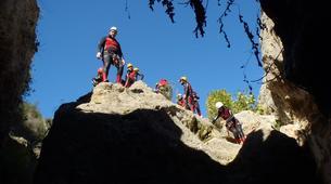 Canyoning-Alicante-Canyoning Gorgo de la Escalera in Alicante-1