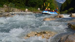 Rafting-Samoëns, Le Grand Massif-Rafting descent of Giffre river in Samoens-4