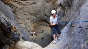 Canyoning-Heraklion-Canyon des Gorges de Portela, Sud de la Crète-2