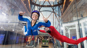 Indoor skydiving-Paris-First time indoor skydiving flight in Paris-1