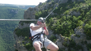 Via Ferrata-Gorges du Tarn-Via Ferrata of Liaucous in Cevennes National Park-2