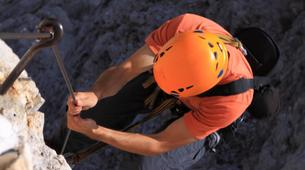 Rock climbing-Heraklion-Session d'Escalade aux Gorges d'Agio Farago, Sud de la Crète-4