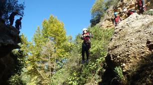 Canyoning-Alicante-Canyoning Gorgo de la Escalera in Alicante-5