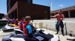 Jet Ski-Barcelona-Jet ski excursion around Port Forum in Barcelona-3