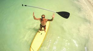 Stand up Paddle-Zanzibar-Stand up paddle session in Paje, Zanzibar-1