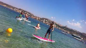 Stand Up Paddle-Malte-Stand up paddling & yoga lesson in Mellieha Bay, Malta-5