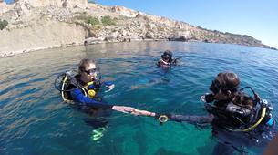 Scuba Diving-Malta-PADI Open Water course in Mellieha Bay, Malta-3