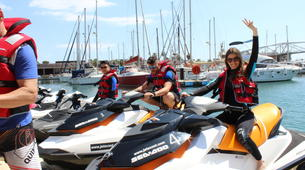 Jet Ski-Barcelona-Jet ski excursion around Port Forum in Barcelona-5