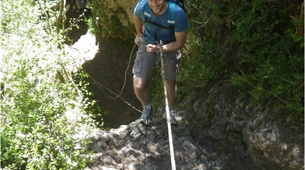 Abseiling-Gorges du Tarn-Abseiling in Gorges du Tarn, Cevennes National Park-2