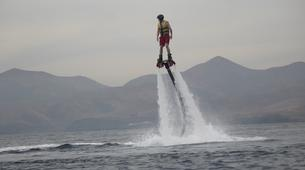 Flyboard / Hoverboard-Puerto del Carmen, Lanzarote-Sessions de Flyboard à Puerto del Carmen, Lanzarote-5