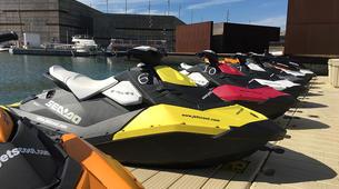 Jet Ski-Barcelona-Jet ski excursion around Port Forum in Barcelona-2